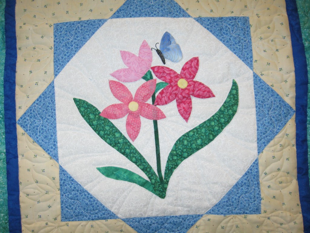 Flower Applique Quilt Patterns Interesting Inspiration Design